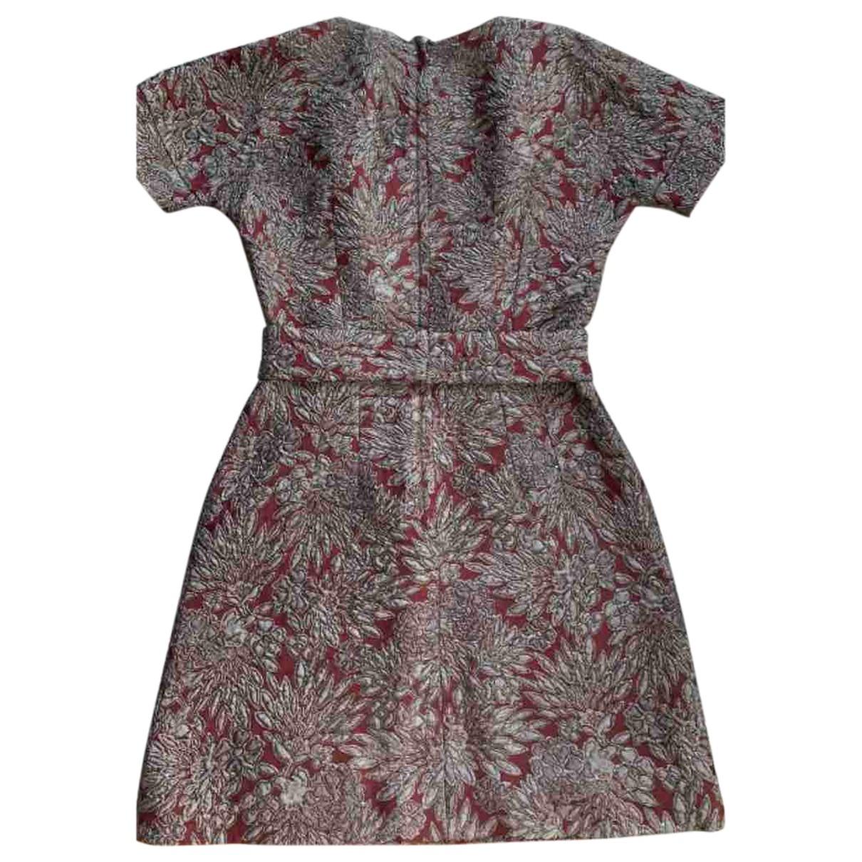 Dolce & Gabbana \N Burgundy dress for Women 42 IT
