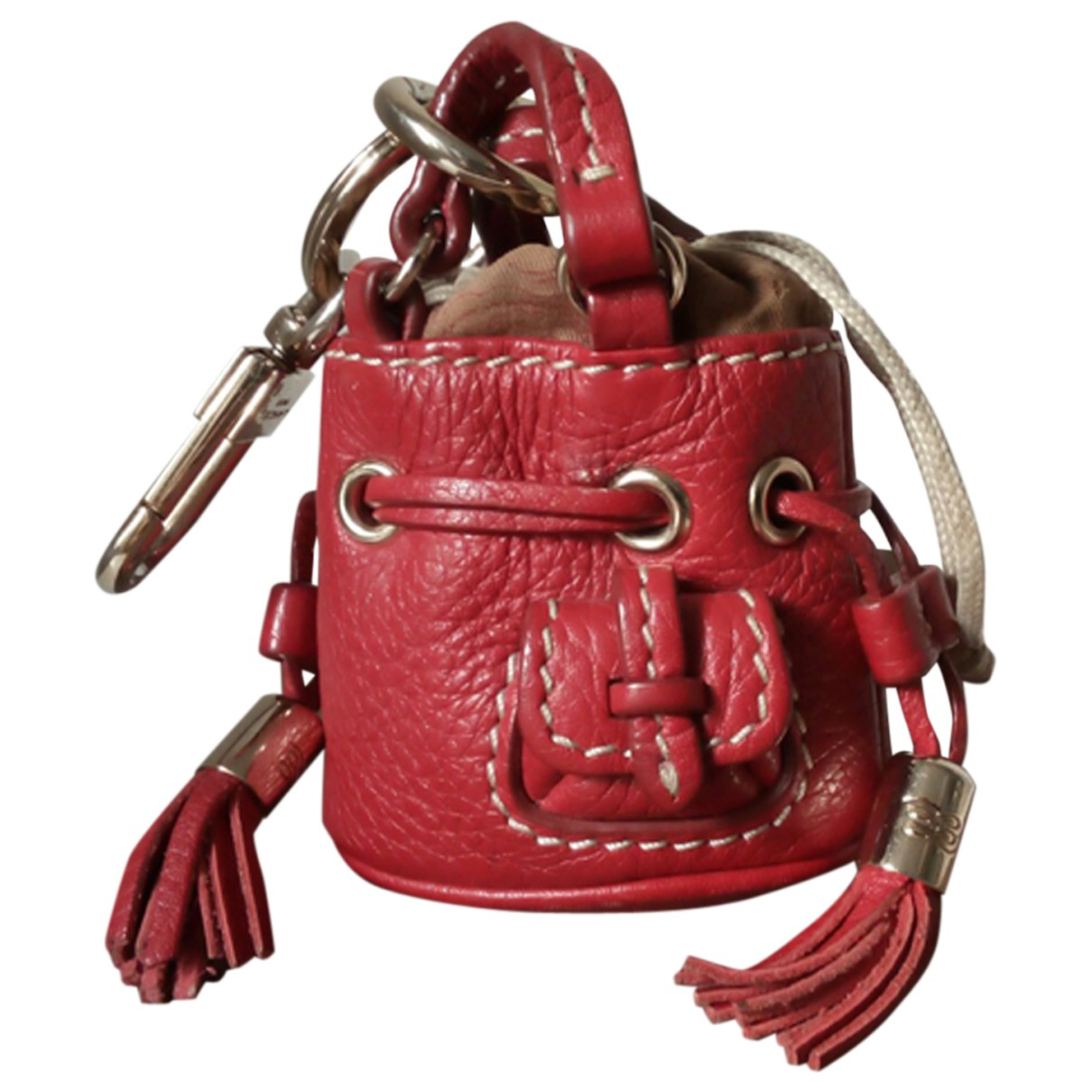 Lancel - Petite maroquinerie 1er Flirt pour femme en cuir - rouge