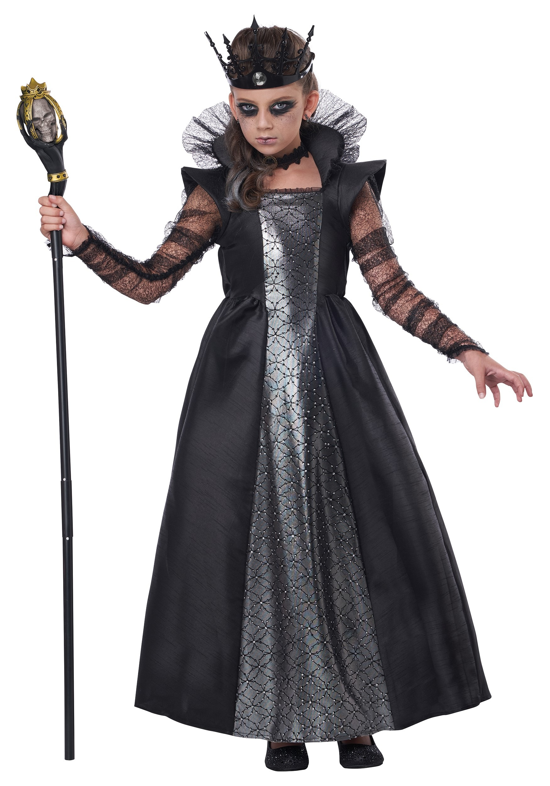 Dark Majesty Girls Costume