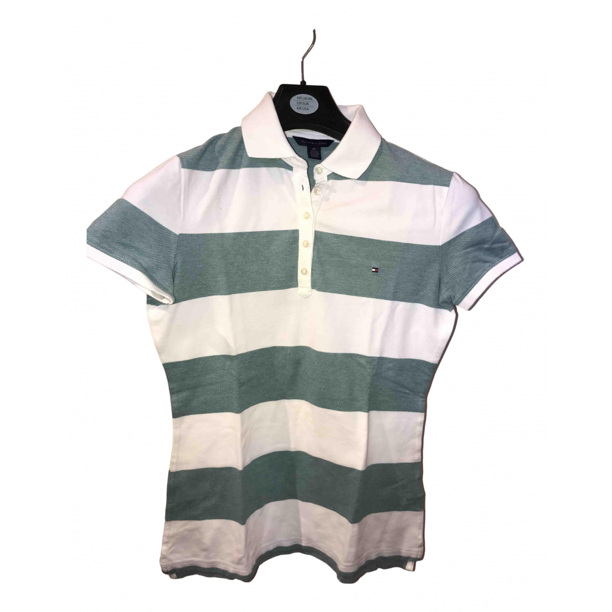Tommy Hilfiger \N Turquoise Cotton  top for Women S International