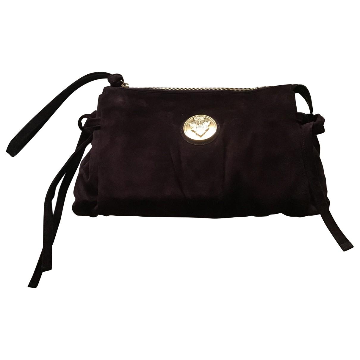 Gucci Hysteria Purple Suede Clutch bag for Women \N