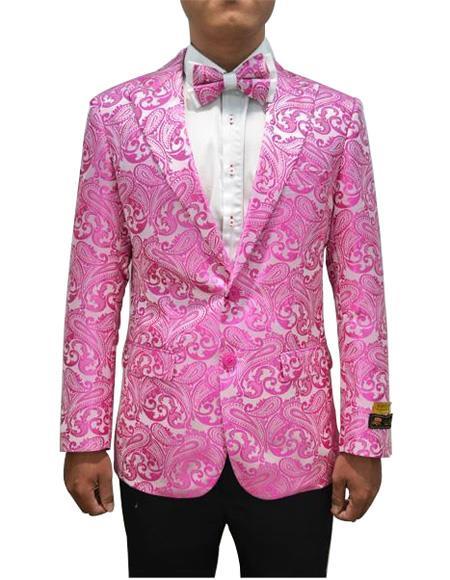 Cheap Mens Printed Flower Jacket Prom custom celebrit