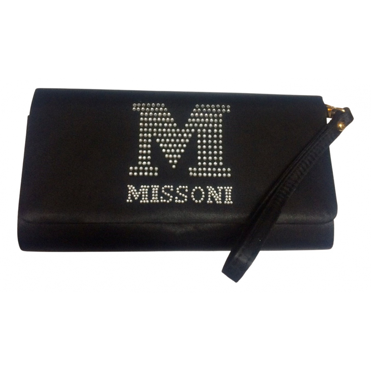 M Missoni \N Clutch in  Schwarz Polyester