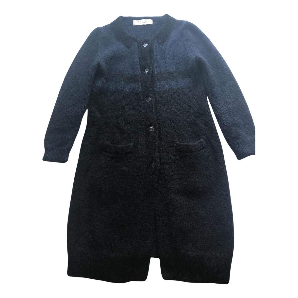 Marni N Blue Wool Knitwear for Women 40 IT