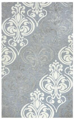 LANLS956200330810 Lancasre Area Rug Size 8' X 10'  in Blue And