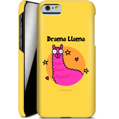 Apple iPhone 6s Smartphone Huelle - Drama Lama von Flossy and Jim