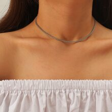 Collar metalico simple