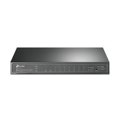 Commutateur PoE intelligent gigabit à 8 ports JetStream avec 2 logements SFP - TP-LINK®