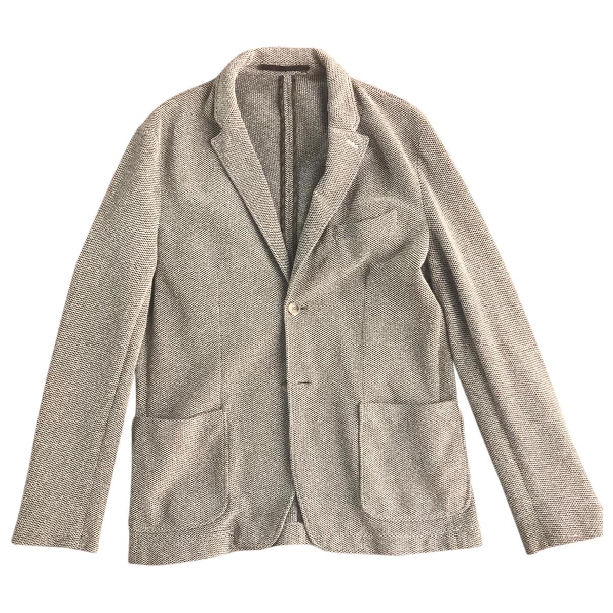 Zara \N Jacke in  Beige Baumwolle