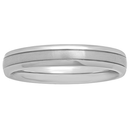 Womens 4mm Titanium Wedding Band, 8 1/2 , No Color Family
