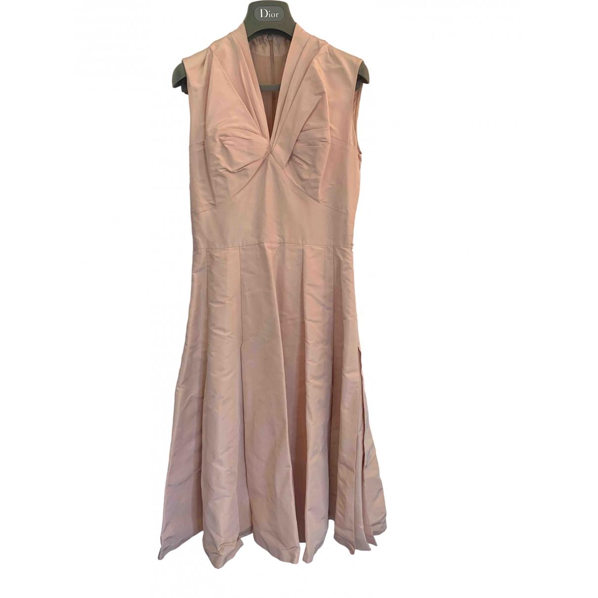 Dior \N Pink Silk dress for Women 36 FR