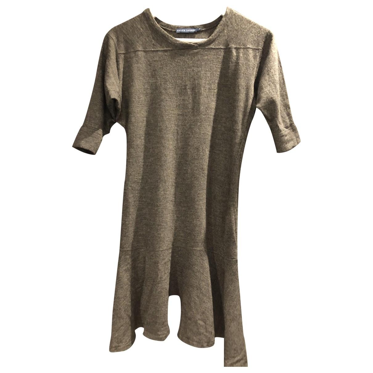 Ralph Lauren - Robe   pour femme en laine - anthracite