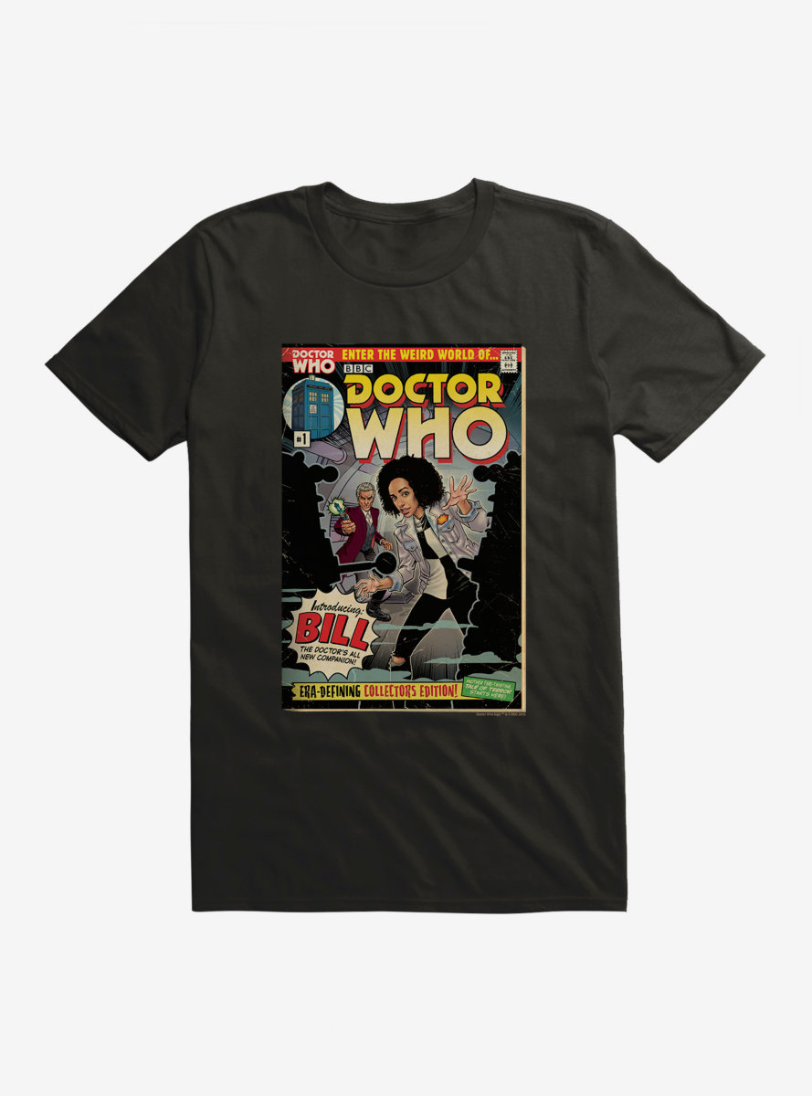 Doctor Who Meet Bill Comic T-Shirt