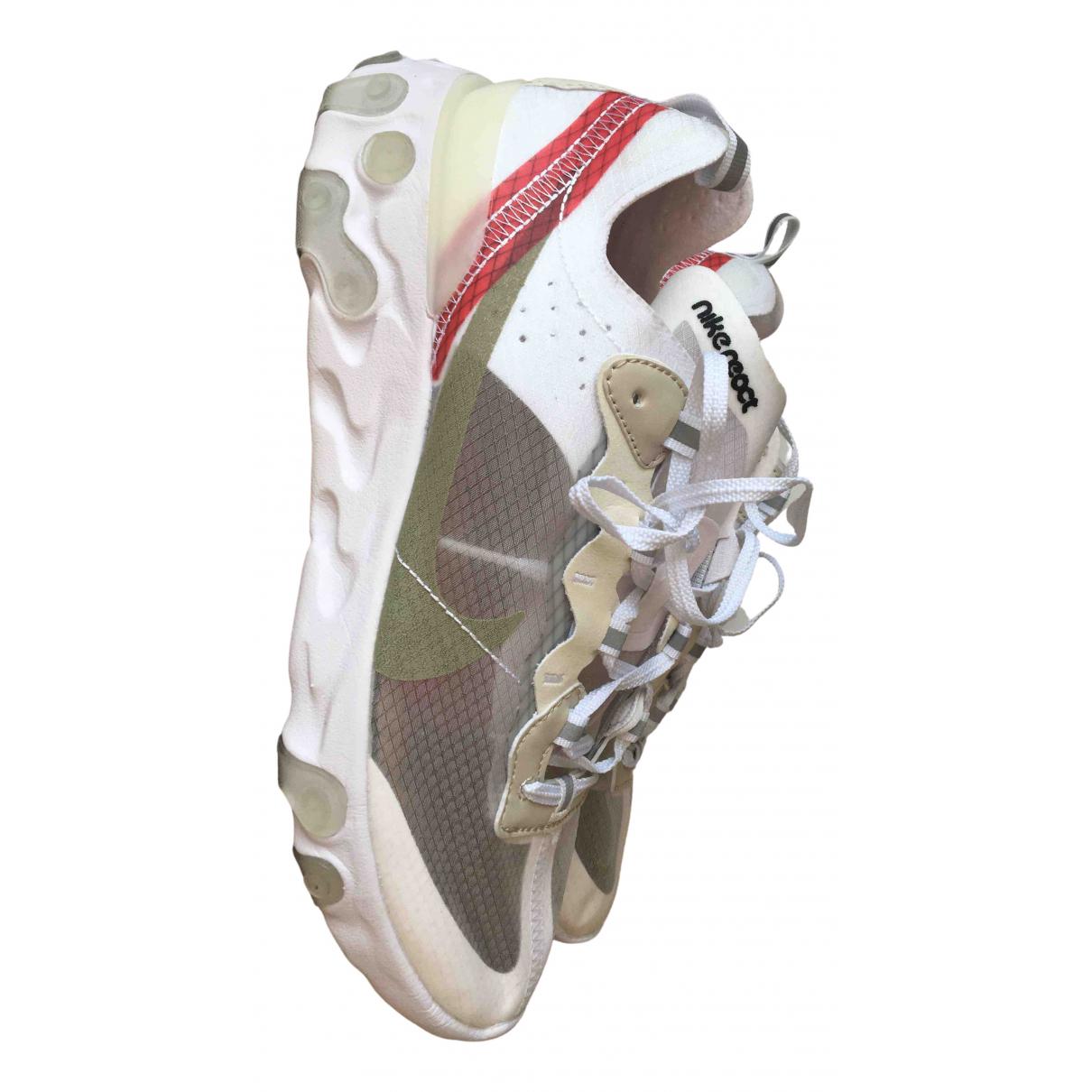 Deportivas React Element 87  de Lona Nike