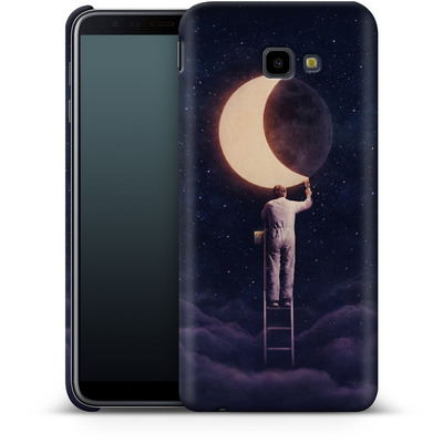 Samsung Galaxy J4 Plus Smartphone Huelle - Carpe Noctem Wide von Enkel Dika