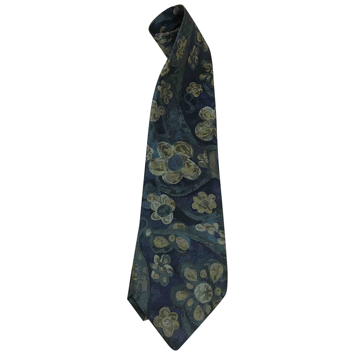 Fendi - Cravates   pour homme en soie - bleu