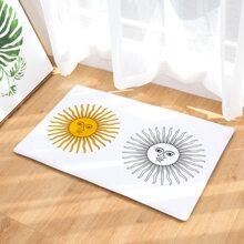 Sun Print Floor Mat