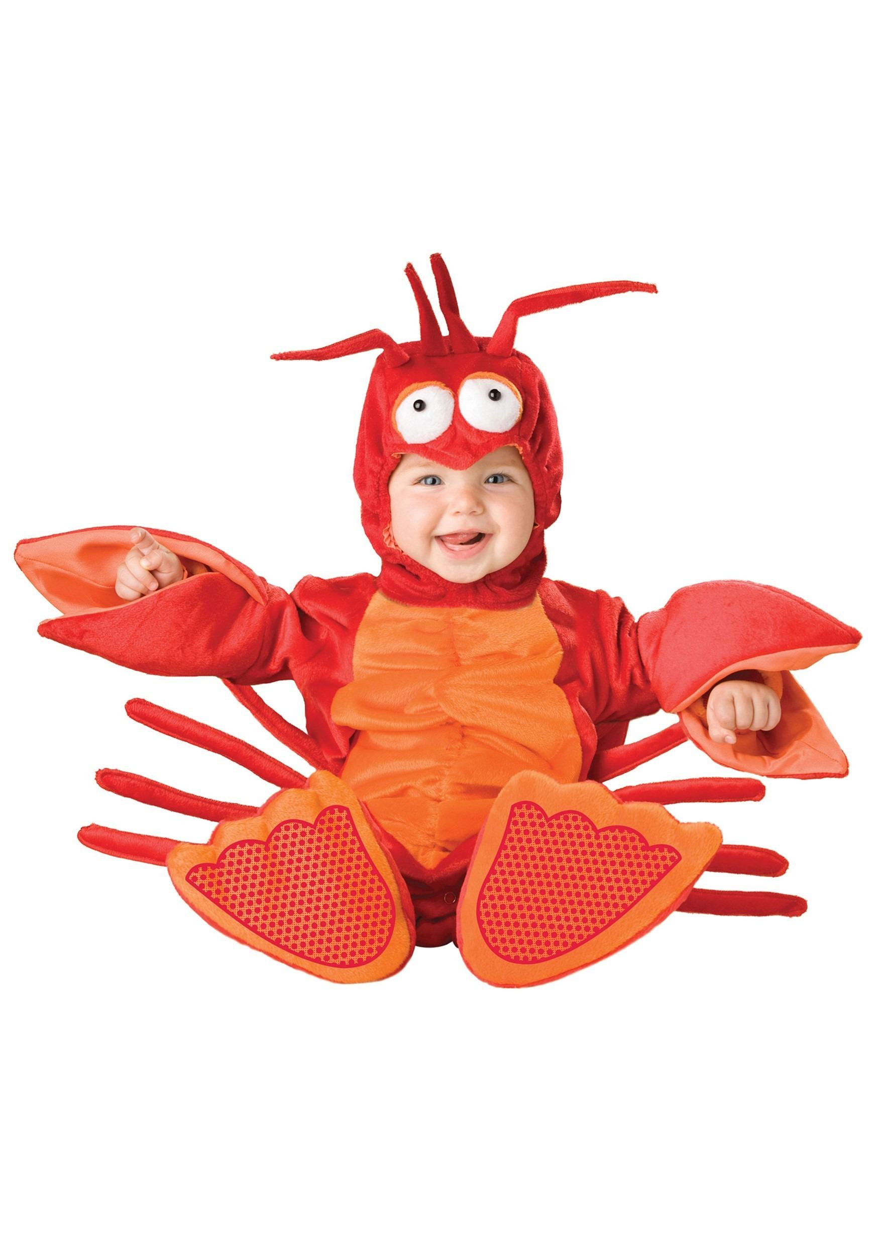 Infant Red Lobster Costume