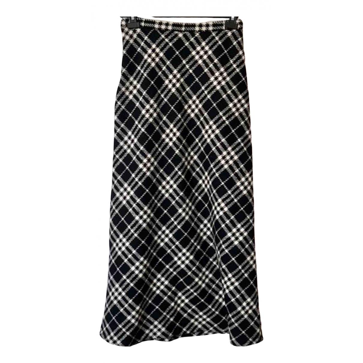 Burberry N Black Wool skirt for Women 12 UK