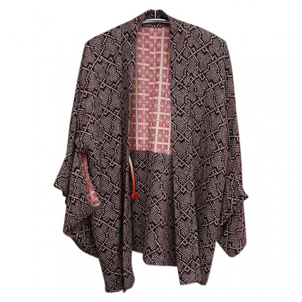 - Veste Oversize pour femme en soie