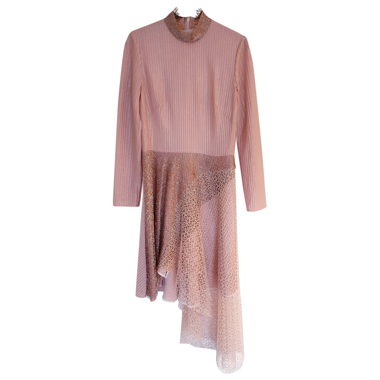 Peter Pilotto - Robe   pour femme en dentelle - rose