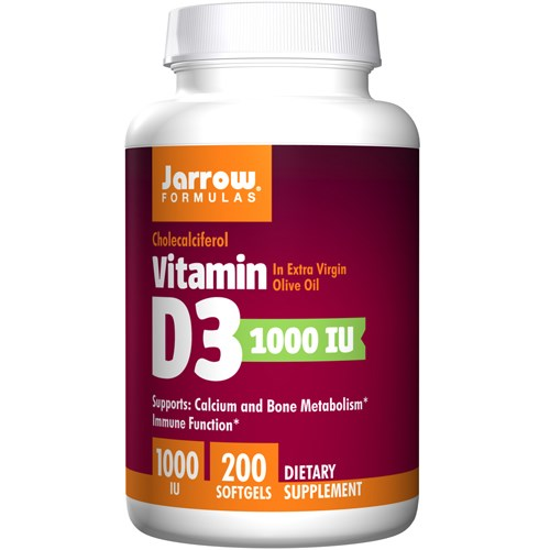 Vitamin D3 200 Softgels by Jarrow Formulas