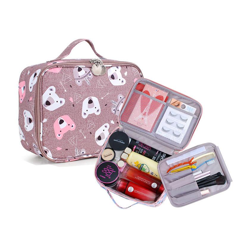 IPRee® Wash Bag Waterproof Cosmetic Makeup Organizer Storage Bag Outdoor Travel