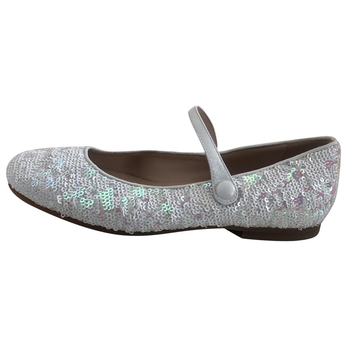 Dior - Ballerines   pour enfant en a paillettes - argente