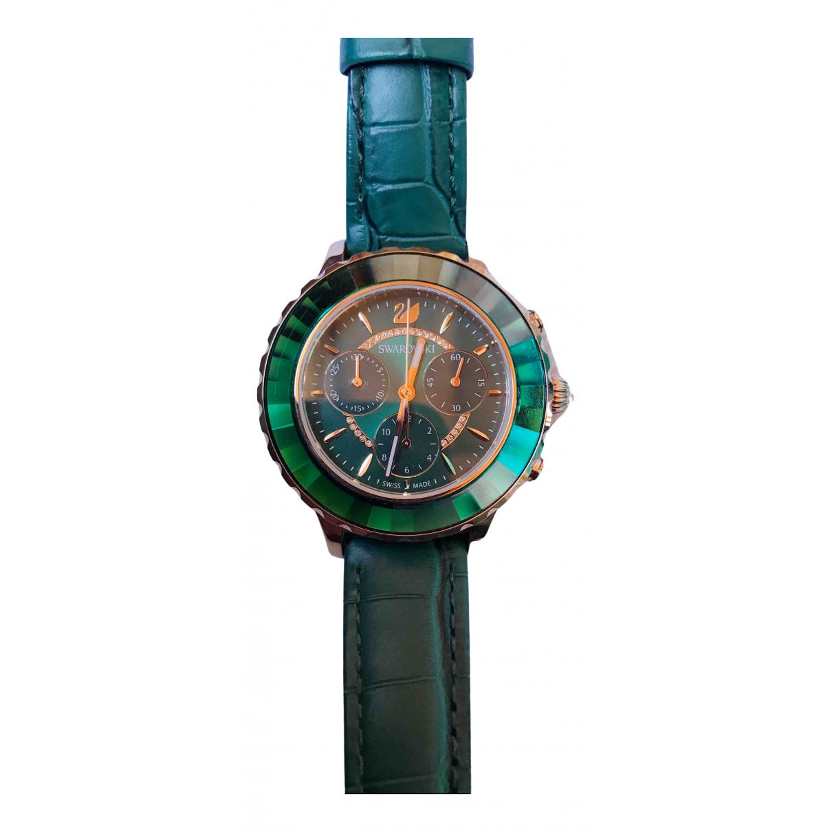 Swarovski \N Green Steel watch for Women \N
