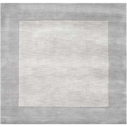 Mystique M-312 6' Square Modern Rug in Taupe  Medium