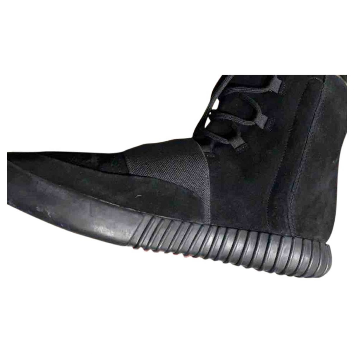 Yeezy X Adidas Boost 750  Black Suede Trainers for Men 47 EU