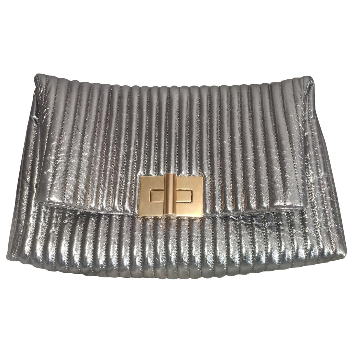 Tom Ford Natalia Silver Leather handbag for Women \N