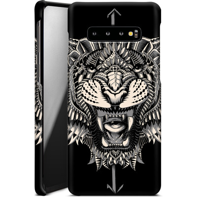 Samsung Galaxy S10 Plus Smartphone Huelle - Eye Of The Tiger von BIOWORKZ