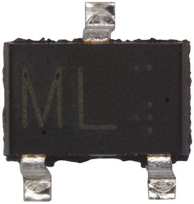 ROHM 2SA1579T106R/S PNP Transistor, 50 mA, 120 V, 3-Pin SOT-323 (10)