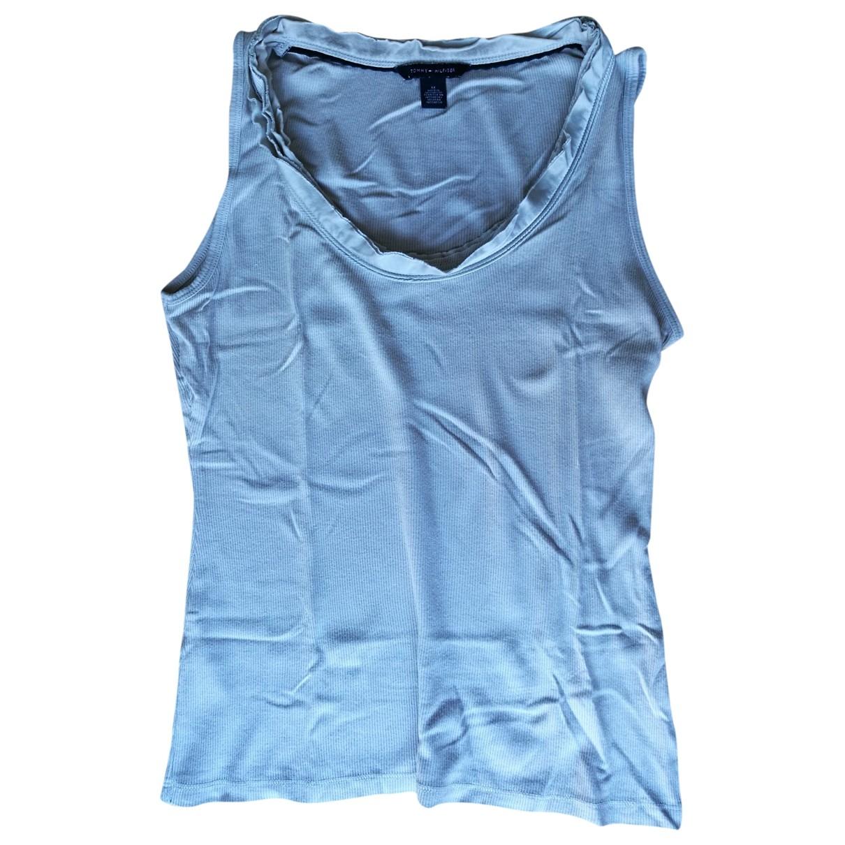 Tommy Hilfiger \N Grey Cotton  top for Women S International