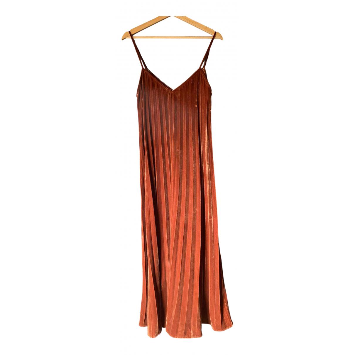 Maxi vestido de Terciopelo Mes Demoiselles ...