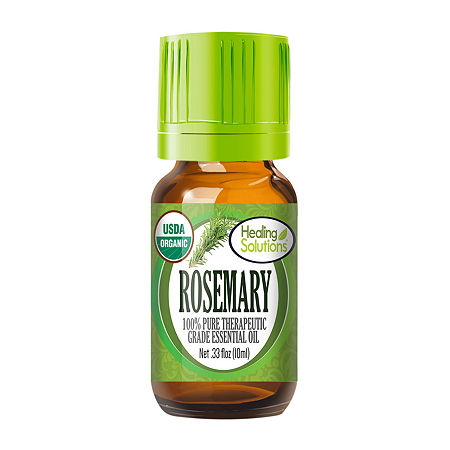 Healing Solutions Organic Rosemary Essential Oil, One Size , No Color Family