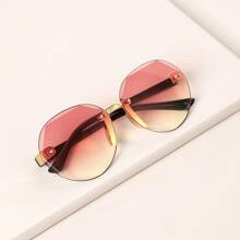 1pc Kids Irregular Lens Polarized Sunglasses