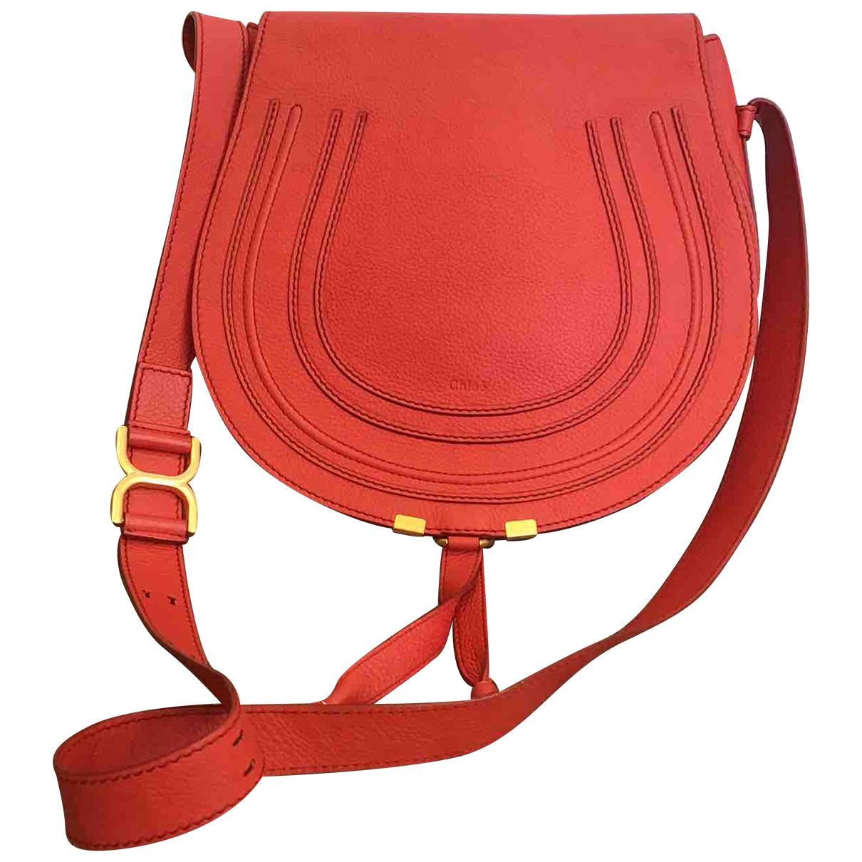 Chloé Marcie Red Leather handbag for Women \N
