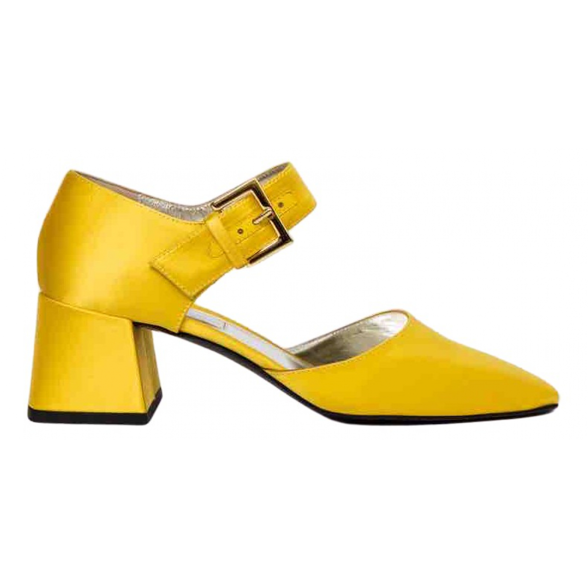 Suzanne Rae N Yellow Cloth Sandals for Women 39.5 EU
