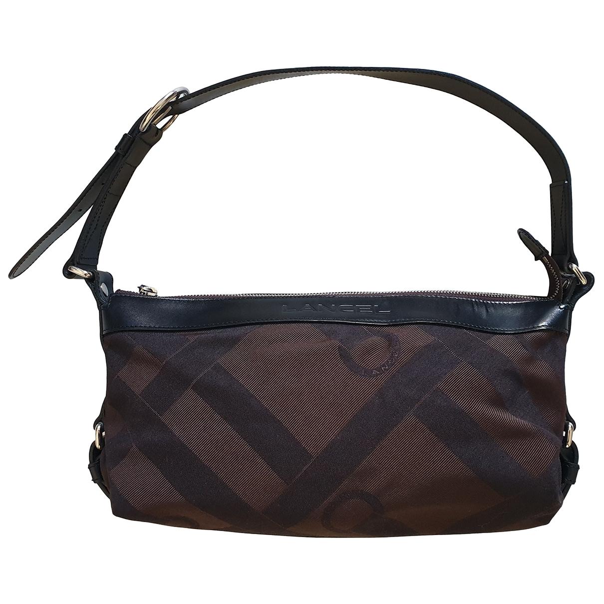 Lancel \N Handtasche in  Braun Leinen