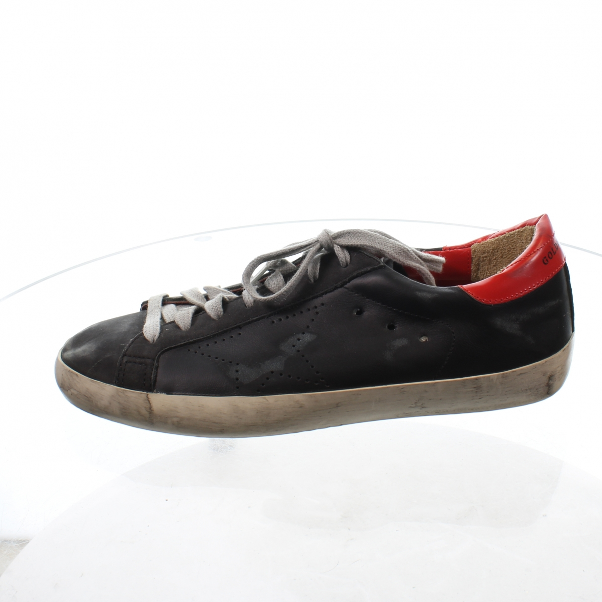 Golden Goose \N Sneakers in  Marine Leder