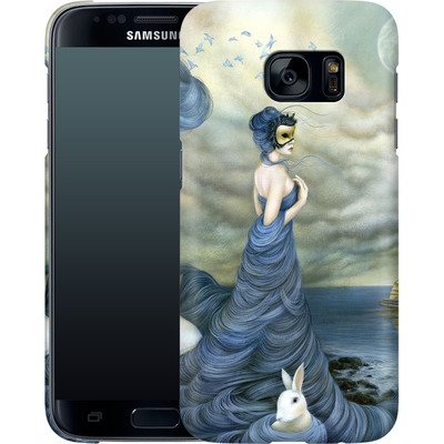 Samsung Galaxy S7 Smartphone Huelle - Where Time Beckons the Wicked von Dan May