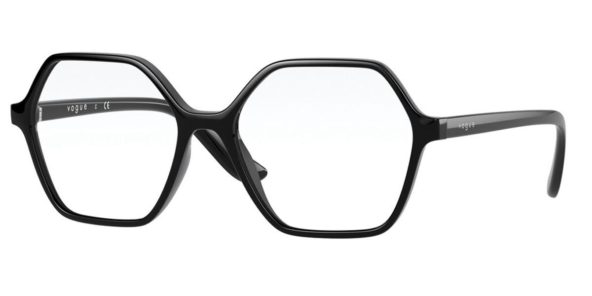 Vogue Eyewear VO5363 W44 Women's Glasses Black Size 51 - Free Lenses - HSA/FSA Insurance - Blue Light Block Available