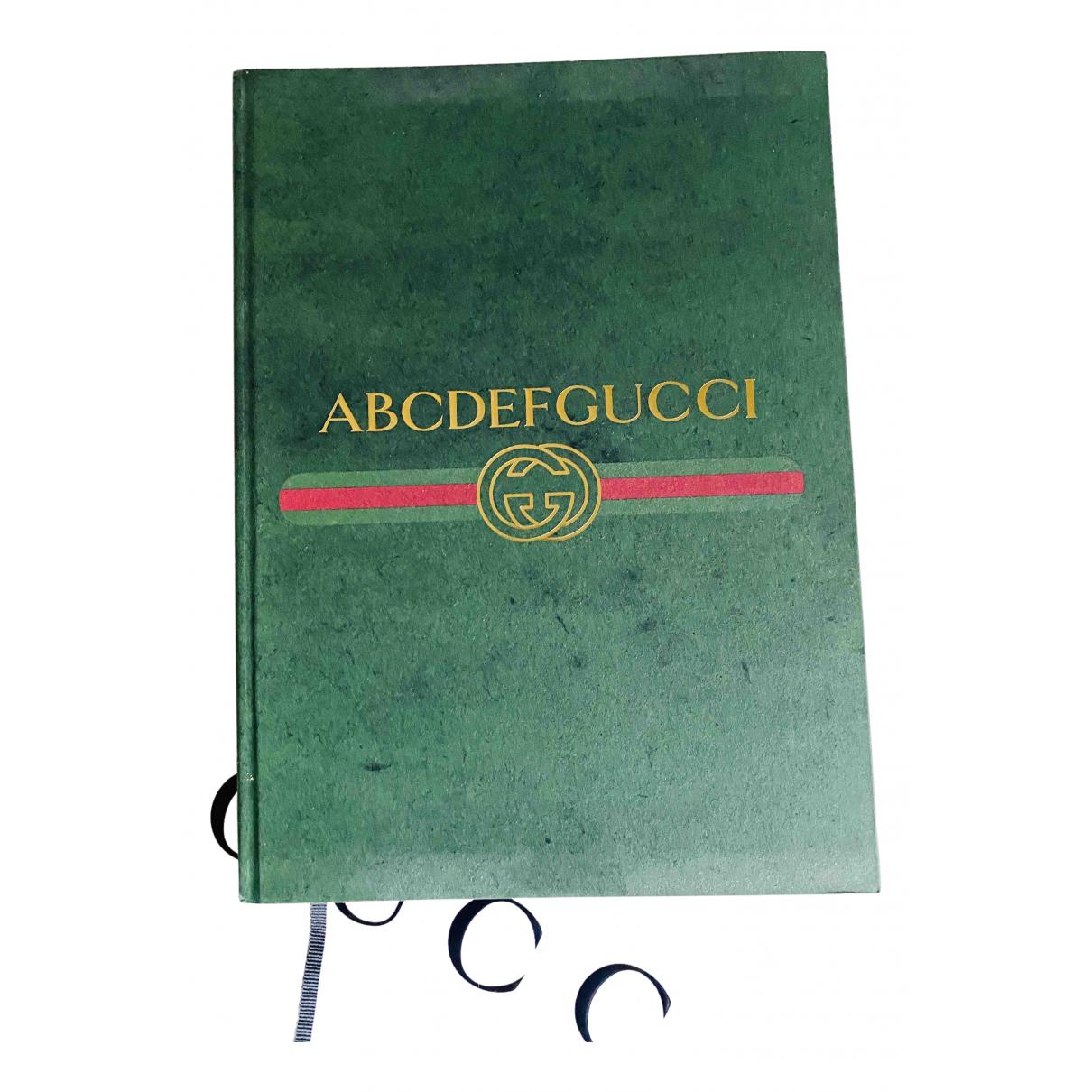 Gucci - Objets & Deco   pour lifestyle en cuir - vert