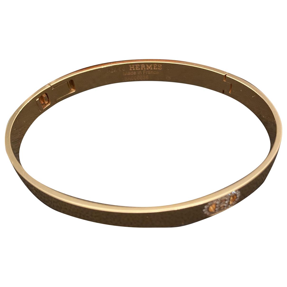 Hermès H d'Ancre Pink gold bracelet for Women \N