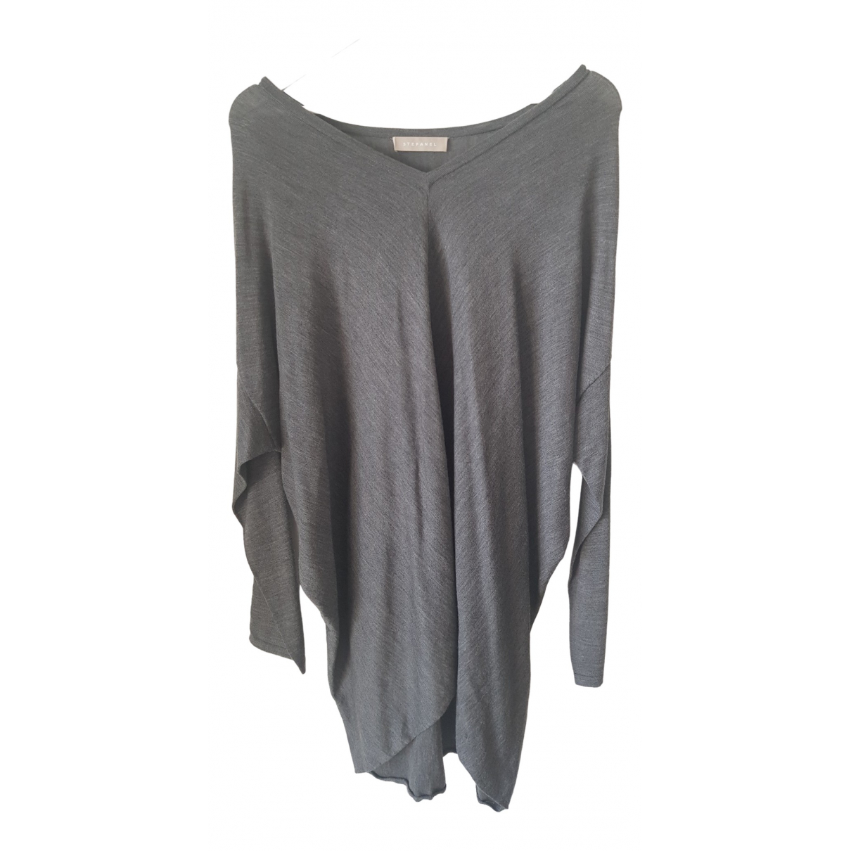 Stefanel \N Grey Wool Knitwear for Women L International