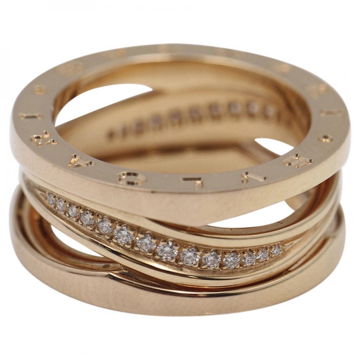 Bvlgari - Bague B.Zero1 pour femme en or rose - metallise