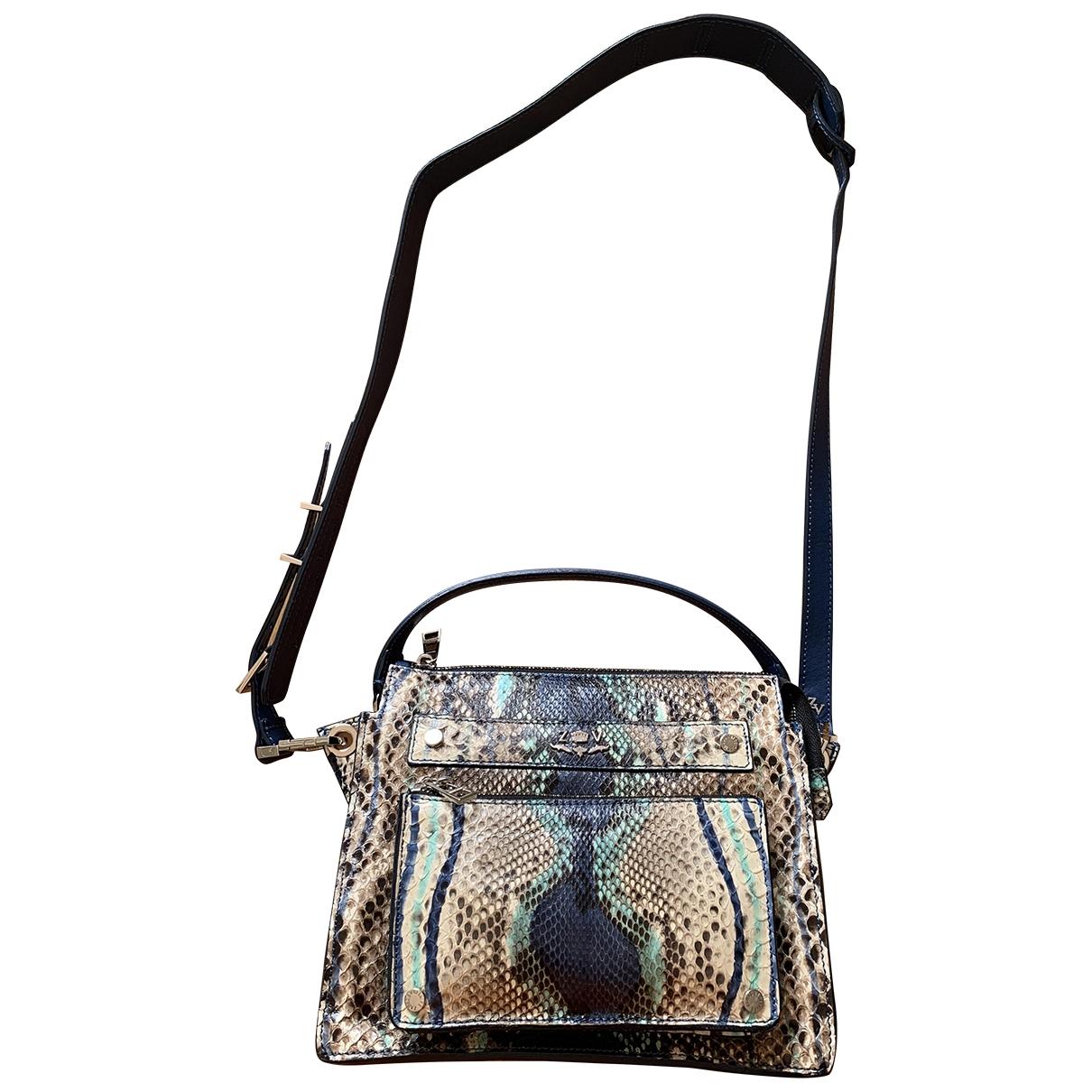 Zadig & Voltaire \N Multicolour Python Clutch bag for Women \N
