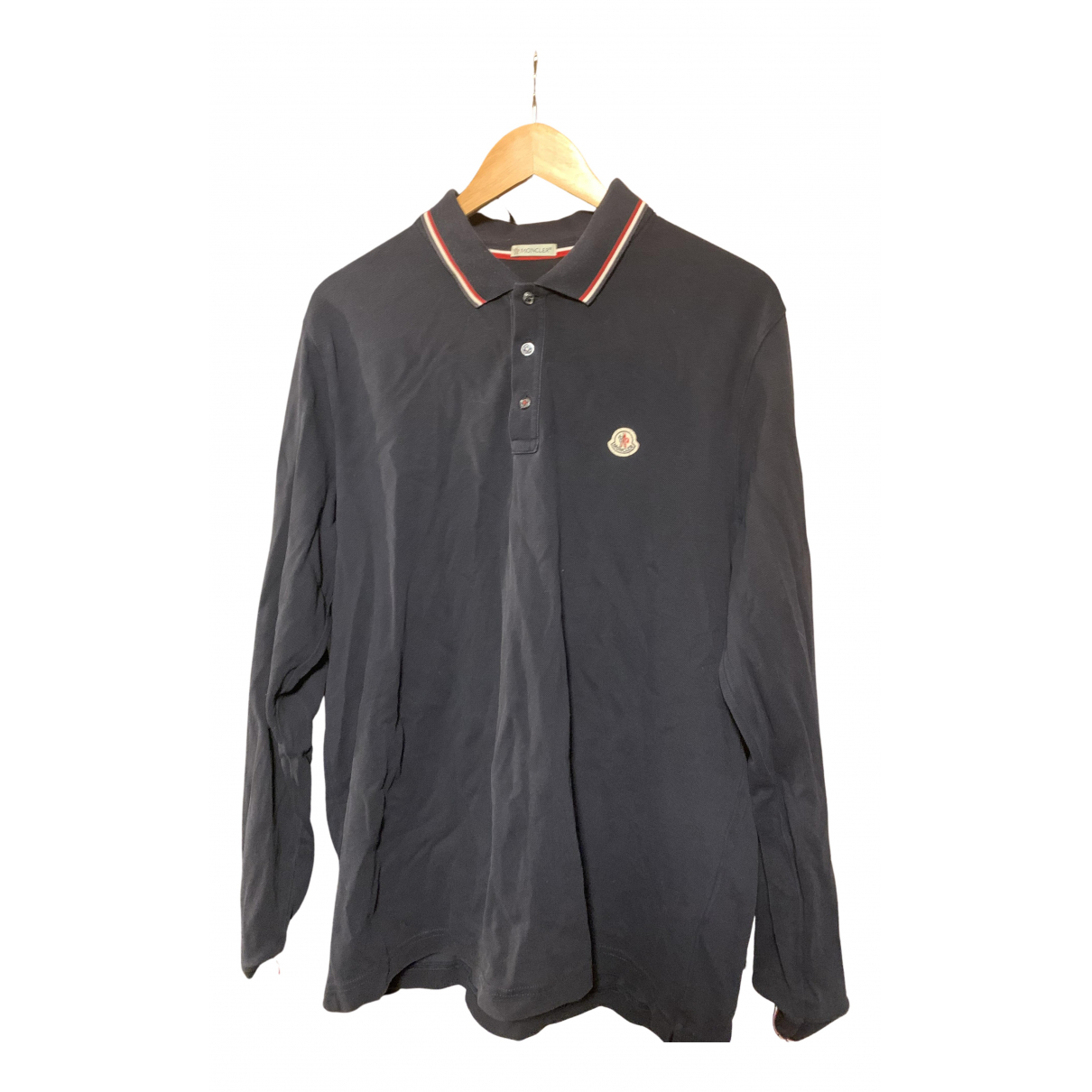 Moncler \N Poloshirts in  Marine Baumwolle